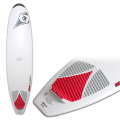 "Bic 7'9"" Natural Surfboard (Red)"